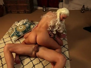 You Tube Porn Video Khaleesi Gets Fucked, Blonde Pornstar Small Tits Parody Cosplay