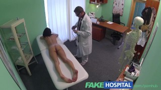 Orgasm fakehospital to gives lonely girl doctor a fit strong young brithday reality real