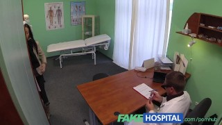 FakeHospital Doctor gives a strong orgasm to fit young lonely brithday girl Young oral
