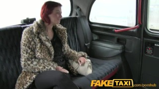 FakeTaxi Shy customer gets fucked for extra cash