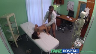 FakeHospital Young woman with killer body caught on camera getting fucked