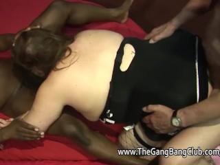 Amateur bbws and chubbys at gangbang orgy parties