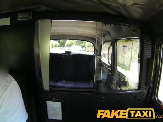Faketaxi ass licking blowjob beauty with great tits