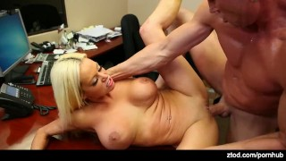 Office von exposure james nikita dick orgasm
