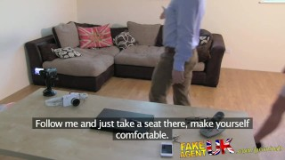 FakeAgentUK Fresh hot girl introduced to anal on casting couch  homemade clit rubbing british point-of-view fakeagentuk audition amateur casting hardcore office reality ass-fucking interview doggystyle butt-fucking