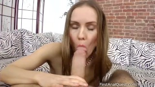 Sabina goes anal
