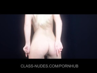 Sexy Lianna sensual stripping and teasing
