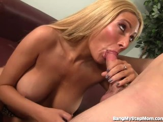Hot Stepmom Caught In The Act