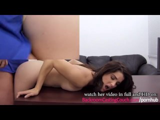 Sensual Surprise Nympho Anal Casting