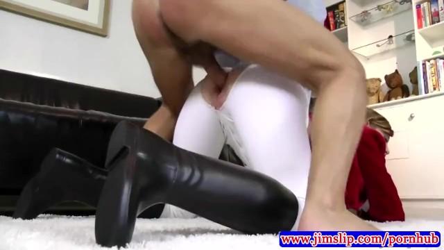 Jim reeth show sucks Teen young amateur wearing stockings showing ass off