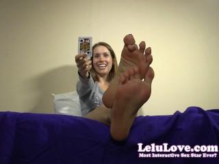 Super Fine Tits Lelu Love-Tease Denial Stop Start Card Game, Amateur Fetish Pov