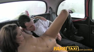 Faketaxi innocent two on takes day cocks on girl valentines gagging uniform