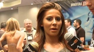 PornhubTV Madison Ivy Interview at 2014 AVN Awards