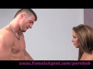 FemaleAgent. Stud can fuck but can he finish