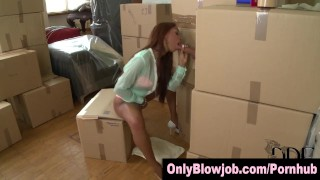 Ebony slut swallows cum sucking cardboard box gloryhole dick  ass ebony sexy black blowjob gloryhole cumshot cocksucking skinny swallow heels deepthroat facial bubble butt onlyblowjob.com