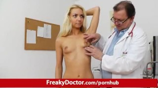 Petite blonde babe Victoria Puppy pussy pump therapy