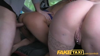 Gang foursome sexy faketaxi bang taxi hot camera deepthroat