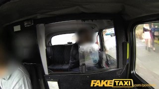 FakeTaxi Hot sexy taxi foursome gang bang Teenager blonde