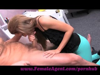 Gone Amateurs FemaleAgent. Big cock delivers creampie present after casting fuck frenzy