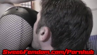 Teased and Abused by Orias redhead piercings tatoos cbt tattoos ball torture kink cock tease kinky sweetfemdom ballbusting