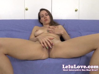 Lelu Love-Pussy Spreading JOE Countdown