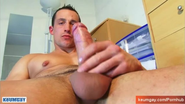 Huge penis gay video clips Full video 25mns: a str8 soccer player gets wanked his huge cock by a guy