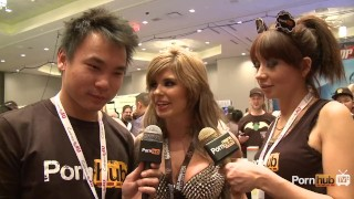 At interview avn chaos pornhubtv chloe awards blowjob avn