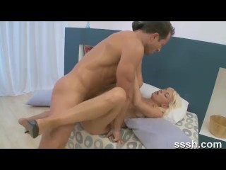 Porn For Women Series Hot Real Couple Having Passionate Athletic Sex