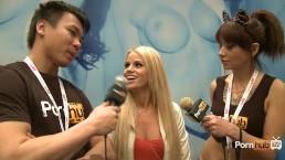 PornhubTV Jessa Rhodes Interview at 2014 AVN Awards