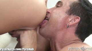 peternorth busty natural-tits milf brunette big-tits big-boobs pussy-licking rimming blowjob tit-fuck titty-fucking big-dick tattoos piercings reverse-cowgirl cumshot open-mouth-cumshot