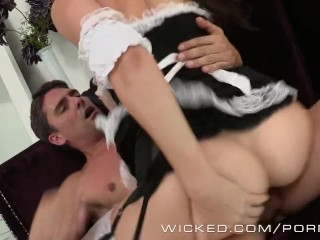 Holly Michaels is one hot maid