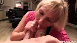 Grace handjob blowjob part 2.