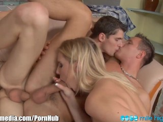 The Swinger Experience Presents MileHigh Curious Couple has MMF Threesome