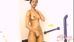 Indian Teen Babe Sex In Shower Masturbating Big Tits Pussy Fingered