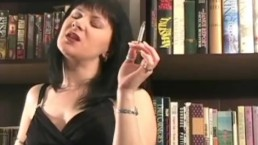 Hot MILF Smoker talks to you while smoking