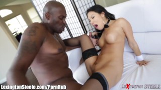 Asa Akira Fucked by 11 Inch Black Cock in Ass  lexingtonsteele.com gaping sexy asian black cumshot skinny big dick interracial swallow deepthroat stockings big tits bbc blowjob tattoo japanese tattoos facial