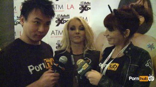 PornhubTV Aaliyah Love Interview at 2014 AVN Awards porno