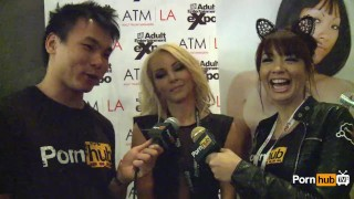 PornhubTV Aaliyah Love Interview at 2014 AVN Awards porno