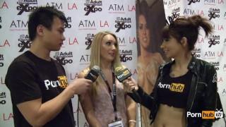 Interview awards pornhubtv avn aj applegate at blonde kong