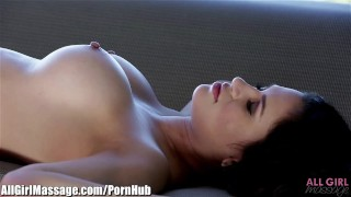 EXCLUSIVE: All Girl Massage Vanessa Veracruz Seduced by the masseuse