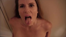 POV Blowjob and Facial