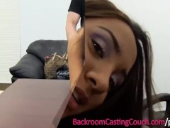 Blaxican Assfuck & Anal Creampie Casting