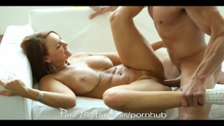 Sucks man's during milf her game balls puremature mother striptease
