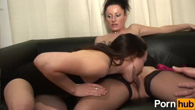 Brunette Anal Mature French