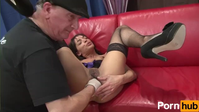 Sissy jerks dick and plays with toys