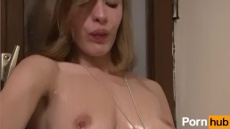 European slut gets fucked and cummed on