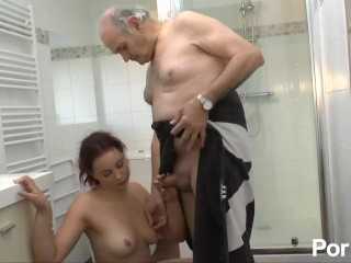 Sex Ass Bus Rehead Fucks Her Boyfriend Then His Dad