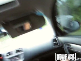 Mofos - Ariana Marie gives a great blowjob in the car