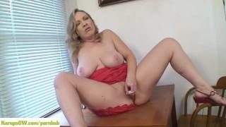 Vicky Vixen Vibrates Pussy Pornstar pussy