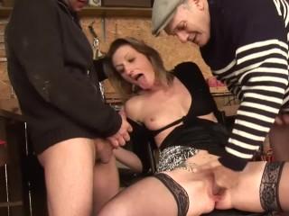 Teen Lingere Porn Papy Voyeur Volume 33 - Scene 1 Babe Euro Threesome